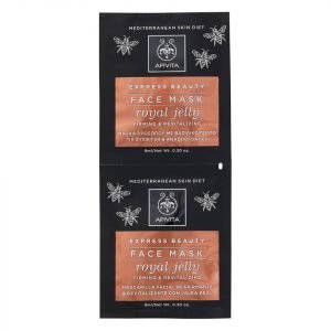 Apivita Express Firming Face Mask Royal Jelly 2x8 Ml