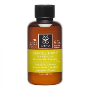 Apivita Holistic Hair Care Mini Gentle Daily Shampoo German Chamomile & Honey 75 Ml