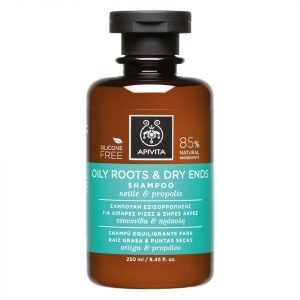 Apivita Holistic Hair Care Oily Roots & Dry Ends Shampoo Nettle & Propolis 250 Ml