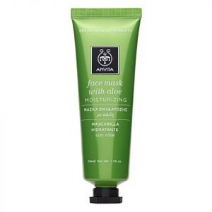 Apivita Moisturizing Face Mask Aloe 50 Ml