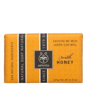Apivita Natural Soap Honey 125 G