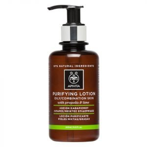 Apivita Purifying Tonic Lotion For Oily / Combination Skin 200 Ml