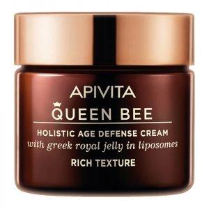Apivita Queen Bee Holistic Age Defense Cream Rich Cream 50 Ml