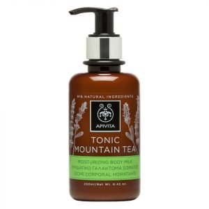 Apivita Tonic Mountain Tea Moisturizing Body Milk 200 Ml