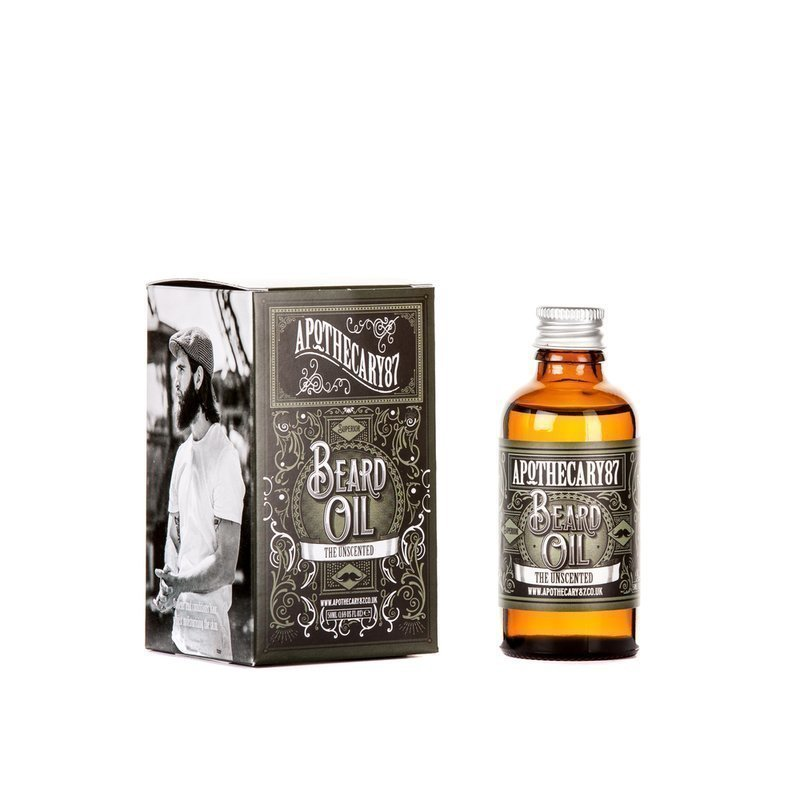 Apothecary 87 The Unscented Beard Oil