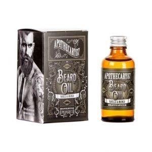 Apothecary87 Beard Oil Vanilla & Mango Partaöljy 50 ml