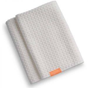 Aquis Hair Towel Waffle Luxe White