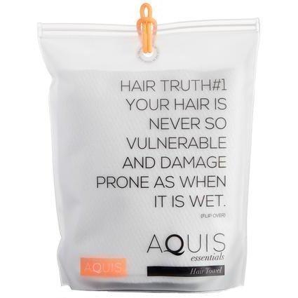 Aquis Lisse Crepe Hair Towel