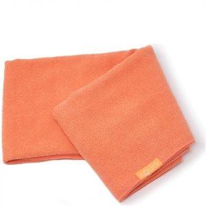 Aquis Lisse Luxe Hair Towel Tangerine Sunrise