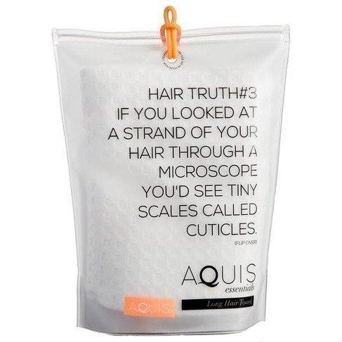 Aquis Waffle Long Hair Towel