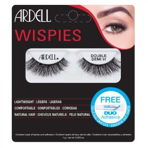 Ardell Double Up Demi Wispies False Eyelashes Black