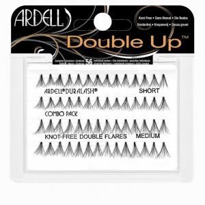 Ardell Double Up Individuals Knot-Free Combo Irtoripset Black