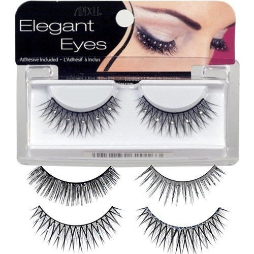 Ardell Elegant Eyes Glittered Lashes Romantic