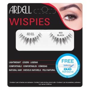 Ardell Wispies Cluster False Eyelashes 603 Black