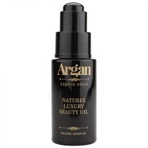 Argan Liquid Gold Natures Luxury Beauty Oil 30 Ml