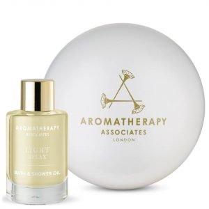 Aromatherapy Associates Pearl Of Wisdom Light Relax Set