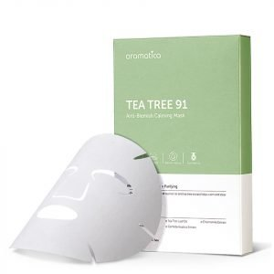 Aromatica Tea Tree 91 Anti-Blemish Calming Mask 5 Pcs 15 G