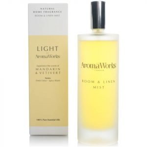 Aromaworks Light Range Room Mist Mandarin And Vetivert