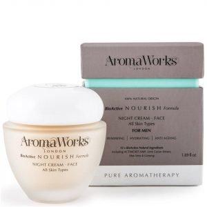 Aromaworks Men's Night Cream 50 Ml