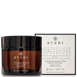 Avant Skincare Anti-Ageing Glycolic Lifting Face And Neck Mask 50 Ml