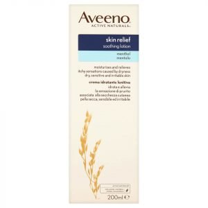 Aveeno Skin Relief Moisturising Lotion With Menthol 200 Ml