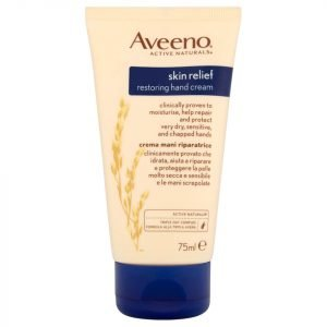 Aveeno Skin Relief Restore And Protect Hand Cream 75 Ml