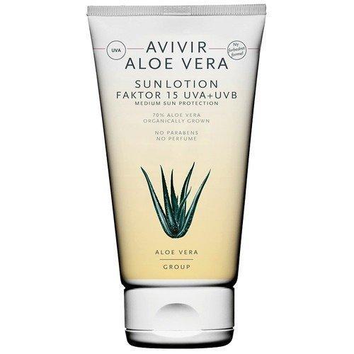 Avivir Aloe Vera Sun Lotion SPF 15 UVA+UVB