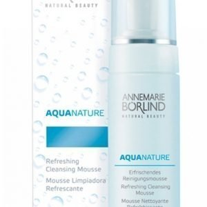 Börlind Aquanature Cleansing Mousse 150 Ml