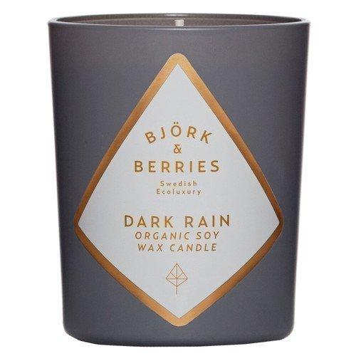 BJÖRK&BERRIES Dark Rain Scented Candle