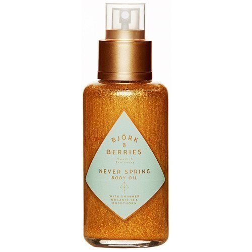 BJÖRK&BERRIES Never Spring Body Oil with Shimmer