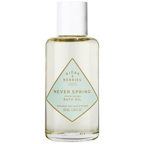 BJÖRK&BERRIES Never Spring Nourishing Bath Oil