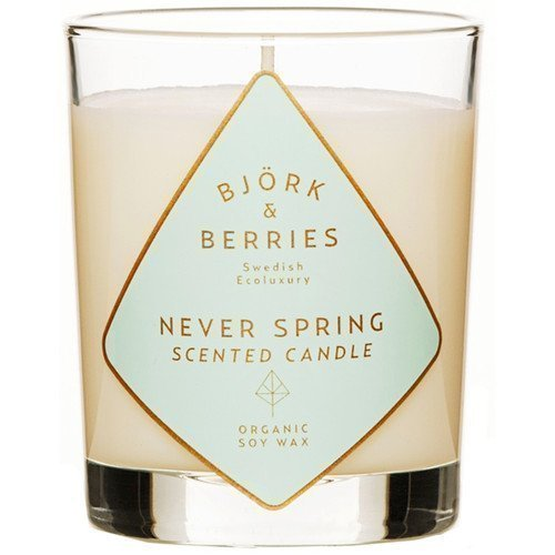 BJÖRK&BERRIES Never Spring Scented Candle