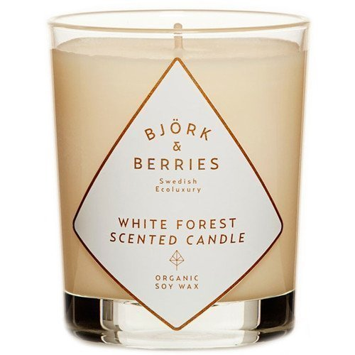 BJÖRK&BERRIES White Forest Scented Candle