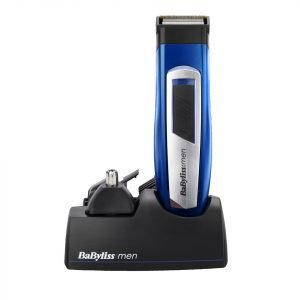 Babyliss For Men 6 In 1 Titanium Grooming Kit Blue