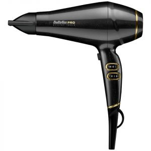 Babyliss Pro Keratin Lustre Hair Dryer Black Shimmer