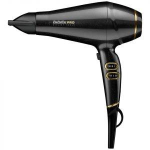 Babyliss Pro Keratin Lustre Hair Dryer Black Shimmer