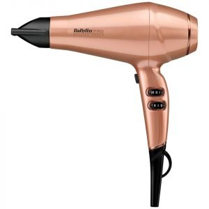 Babyliss Pro Keratin Lustre Hair Dryer Rose Gold