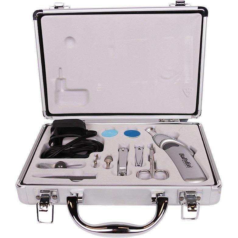 Babyliss Professional Nail Care 8480E Manicure & Pedicure Set 10 Pcs