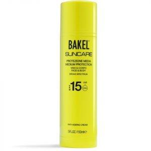 Bakel Suncare Face & Body Protection Spf 15 150 Ml