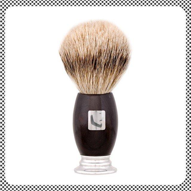 Barberians Shaving Brush Super Silvertip
