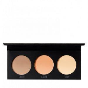 Bareminerals Barepro Contour Face-Shaping Powder Trio Puuteri Multicolor