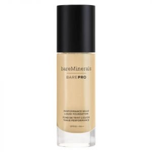 Bareminerals Barepro Liquid Foundation Various Shades Warm Natural 12