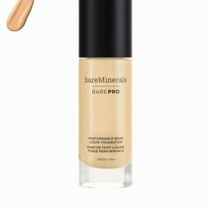 Bareminerals Barepro Performance Wear Liquid Foundation Meikkivoide Golden Nude