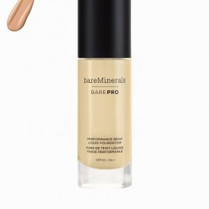 Bareminerals Barepro Performance Wear Liquid Foundation Meikkivoide Light Natural
