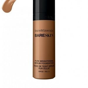 Bareminerals Bareskin Pure Brightening Serum Foundation Spf 20 Mineraalimeikkivoide Almond