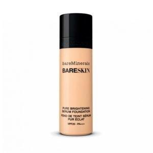 Bareminerals Bareskin Pure Brightening Serum Foundation Spf20 Bare Linen 03 Meikkivoide