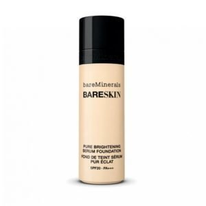 Bareminerals Bareskin Pure Brightening Serum Foundation Spf20 Bare Porcelain 01 Meikkivoide