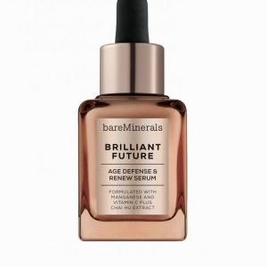 Bareminerals Brilliant Future Age Defense And Renew Serum Seerumi