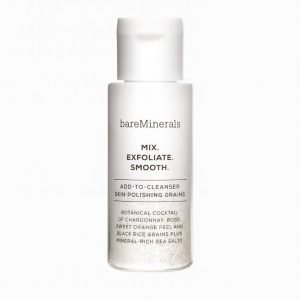 Bareminerals Mix-Exfoliate-Smooth Add-To-Cleanser Polishing Grains Kuorintavoide Valkoinen