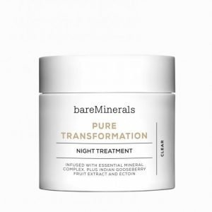 Bareminerals Pure Transformation Night Treatment Kasvohoito